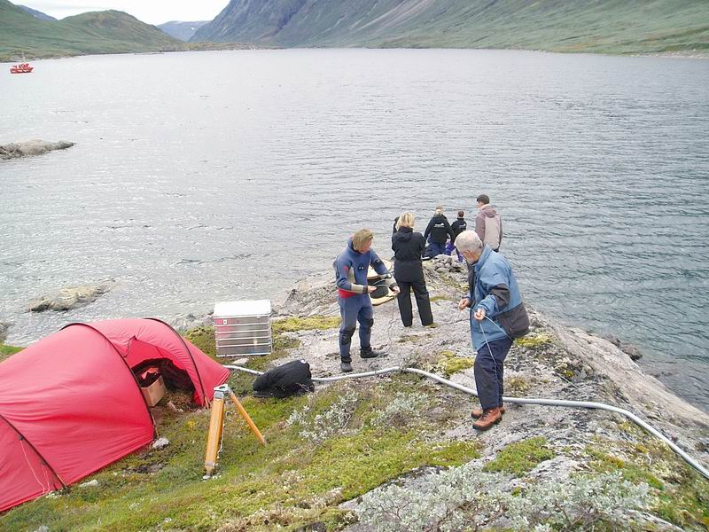 Oxygen Conductivity pH Temperature Flow - Ikka Fjord Project Greenland-1